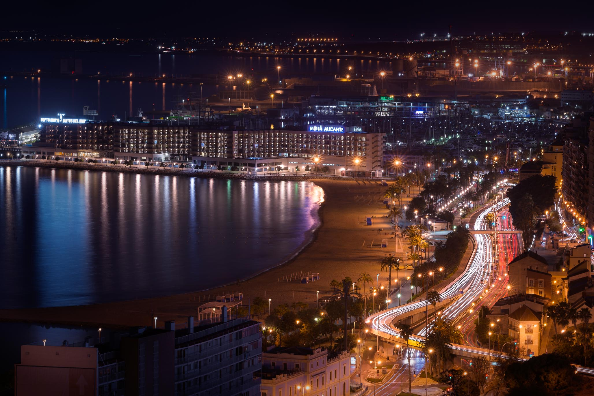 alicante cityscape photography costa blanca